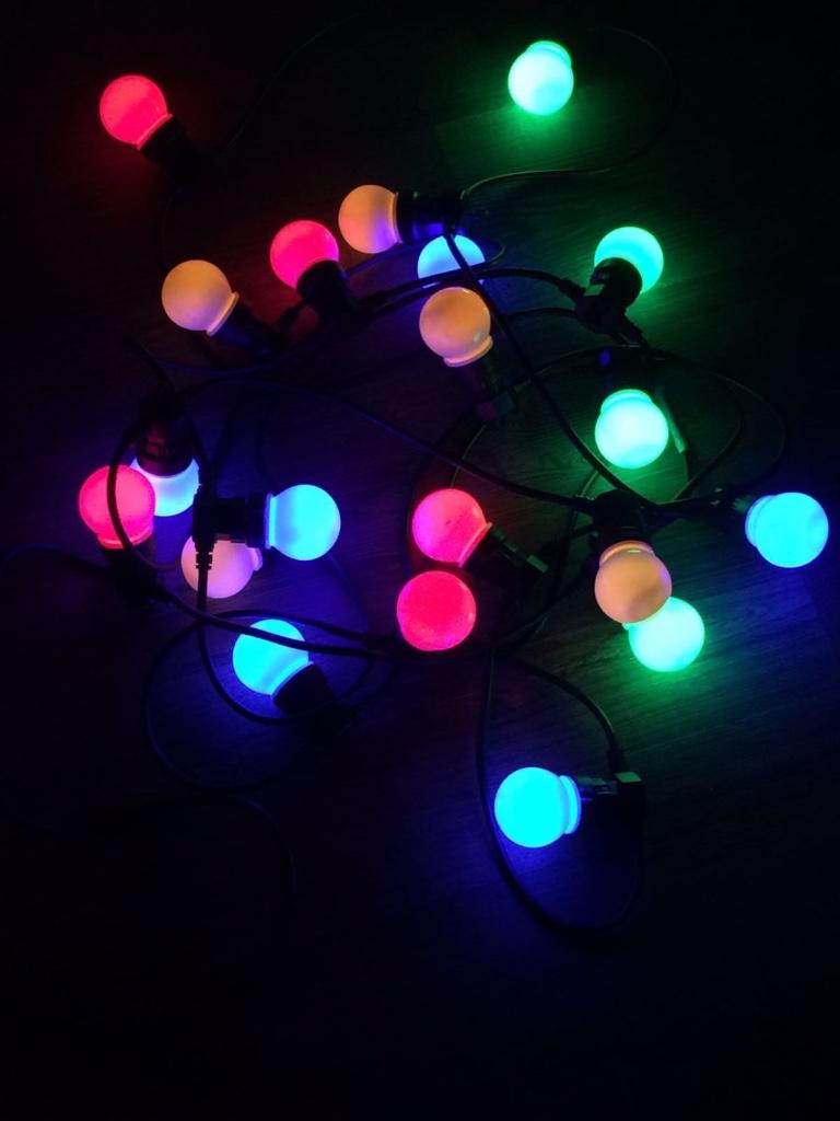 feest verlichting gekleurd alles en nog meer