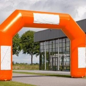 Oranje finishboog